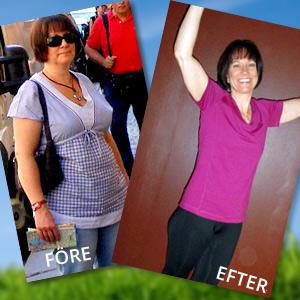 Gå ner i vikt långsiktigt