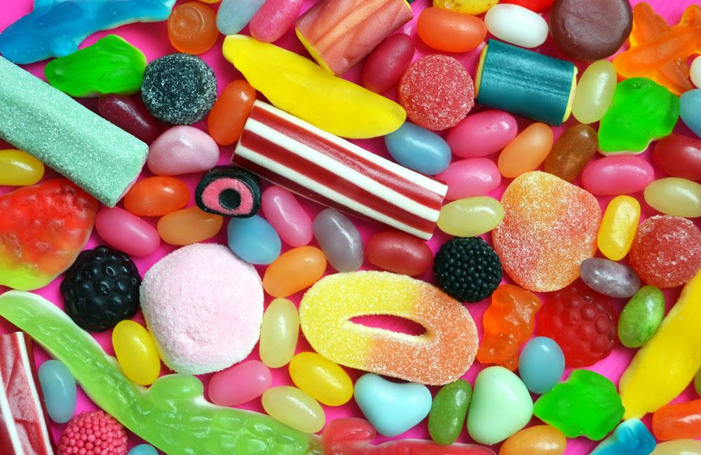hur många kalorier innehåller godis